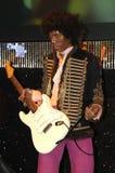Jimi Hendrix na senhora Tussaud Fotografia de Stock Royalty Free