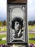 Jimi Hendrix Pamiątkowy Renton, Waszyngton zdjęcia stock