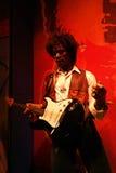 Jimi Hendrix Wax Figure Royalty Free Stock Photos