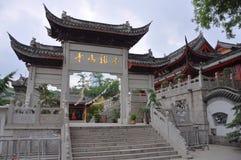 Jiming寺庙,南京 库存图片