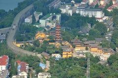 Jiming Temple, Nanjing, China Stock Images
