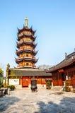 Jiming Temple in Nanjing Royalty Free Stock Image