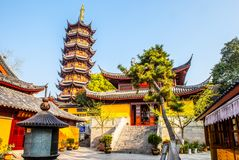 Jiming Temple in Nanjing Royalty Free Stock Images