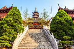 Jiming Temple in Nanjing Royalty Free Stock Photo