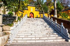 Jiming Temple in Nanjing Stock Image