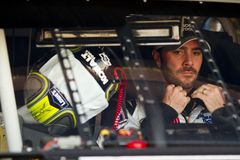 Jimmie Johnson In Car Royalty Free Stock Photos