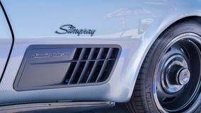 Jimmie Johnson 1971 Chevrolet Corvette Concept,  Dream Cruise, M Royalty Free Stock Photo