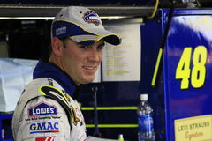 Jimmie Johnson - In the Garage Royalty Free Stock Photography