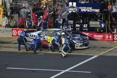 Jimmie Johnson pit crew Royalty Free Stock Image