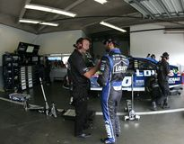 Jimmie Johsnon and Chad Knaus Royalty Free Stock Photography