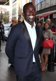 Jimmy Akingbola. Arriving for the launch night of 'Julius Caesar' at the Noel Coward Theatre, London. 15/08/2012 Picture by: Alexandra Glen / Featureflash Stock Photography