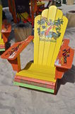 Jimmy Buffet lounge chair Stock Photos