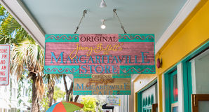 Jimmy Buffet Margaritaville Stockbilder