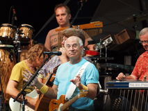 Jimmy Buffett Concert. Before a sea of beachballs sailing off the fins of thousands of overserved Parrotheads, Jimmy Buffett christened the summer season Tuesday Stock Images
