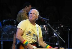 Jimmy Buffett in concert Royalty Free Stock Photo