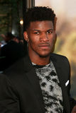 Jimmy Butler. NEW YORK-JUN 24: NBA player Jimmy Butler attends the 'Ted 2' world premiere at the Ziegfeld Theatre on June 24, 2015 in New York City royalty free stock images