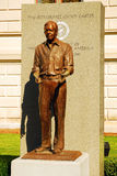Jimmy Carter, 39th President of the United States. A Statue of President Jimmy Carter stands outside of the Georgia State Capitol in Atlanta.  He is the only Royalty Free Stock Photo
