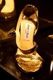 Jimmy Choo's shoes Stock Photography