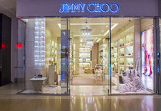 Jimmy Choo store Stock Photos