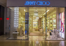 Jimmy Choo store Royalty Free Stock Photo