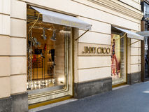 Jimmy Choo Store royalty free stock images