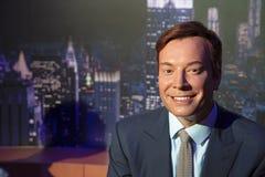 Jimmy Fallon in Madame Tussauds von New York lizenzfreie stockfotos