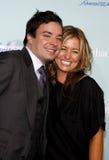 Jimmy Fallon and Nancy Juvonen Royalty Free Stock Photo