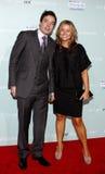 Jimmy Fallon and Nancy Juvonen Royalty Free Stock Photos