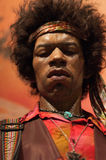 Jimmy Hendrix. Wax figurine at Madame Tussauds in New York City Stock Photography