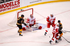 Jimmy Howard Detroit Red Wings Lizenzfreies Stockbild