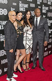 Jimmy Iovine, Liberty Ross, Nicole Young, and Dr. Dre Royalty Free Stock Photos