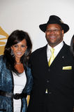 Jimmy Jam. And Wife Lisa  at The GRAMMY Nominations Concert Live!, Club Nokia, Los Angeles, CA.  12-02-09 Royalty Free Stock Image