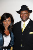 Jimmy Jam. And Wife Lisa  at The GRAMMY Nominations Concert Live!, Club Nokia, Los Angeles, CA.  12-02-09 Stock Photo
