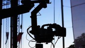 Jimmy Jib stock video footage
