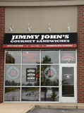 Jimmy Johns Speicher Stockfotos