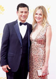Jimmy Kimmel and Molly McNearney Royalty Free Stock Images