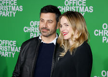 Jimmy Kimmel and Molly McNearney Stock Image