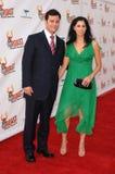 Jimmy Kimmel, Pamela Anderson, Sarah Silverman fotografia de stock royalty free