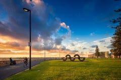 Jimmy Melrose park w Glenelg, Południowy Australia Zdjęcie Royalty Free
