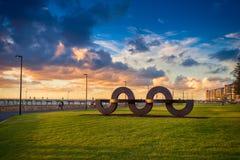 Jimmy Melrose park w Glenelg, Południowy Australia Obraz Royalty Free