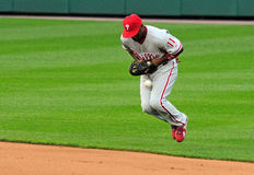Jimmy Rollins, Philadelphia Phillies Stock Images