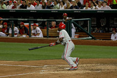Jimmy Rollins Philadelphia Phillies Royalty Free Stock Photo