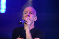 Jimmy Somerville. (James William Somerville) performing in Riga 2009 Royalty Free Stock Images