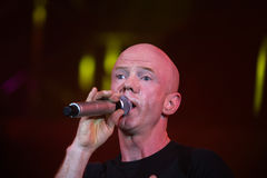 Jimmy Somerville. (James William Somerville) performing in Riga 2009 Royalty Free Stock Photography