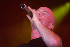 Jimmy Somerville. (James William Somerville) performing in Riga 2009 Stock Photos