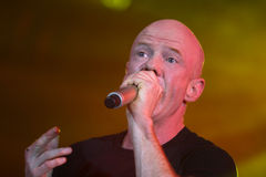 Jimmy Somerville. (James William Somerville) performing in Riga 2009 Stock Photo