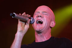 Jimmy Somerville. (James William Somerville) performing in Riga 2009 Stock Image