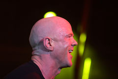 Jimmy Somerville. (James William Somerville) performing in Riga 2009 Royalty Free Stock Photos