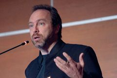 Jimmy Wales Stock Photo