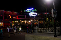 Jimmys Buffetts Margaritaville restaurang i Orlando, Florida royaltyfri fotografi